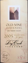 2006 Dry Creek - Zinfandel Old Vines