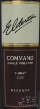 2003 Elderton - Shiraz Command