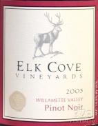 2006 Elk Cove - Pinot Noir Willamette Valley