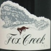 2001 Fox Creek - Shiraz Reserve