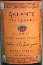 2003 Galante - Cabernet Sauvignon Red Rose Hill Estate