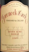 2005 Greenock Creek - Shiraz Seven Acre