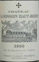 2000 Mission Haut-Brion