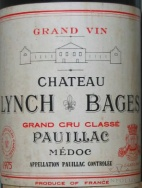 1975 Lynch-Bages