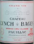 2001 Lynch-Bages