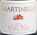 2008 Martinelli - Pinot Noir Zio Tony Ranch