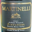 2004 Martinelli - Zinfandel Jackass Vineyard