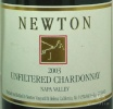2003 Newton - Chardonnay Unfiltered