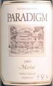 2009 Paradigm - Merlot Oakville Estate