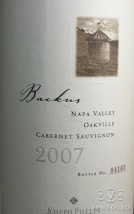 2009 Joseph Phelps - Cabernet Sauvignon Backus Vineyard