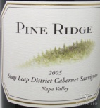 2009 Pine Ridge - Cabernet Sauvignon Stags Leap District