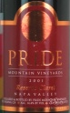 2001 Pride Mountain - Claret Napa Valley Reserve