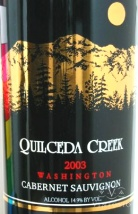 2003 Quilceda Creek - Cabernet Sauvignon Washington