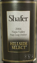 2006 Shafer - Cabernet Sauvignon Hillside Select