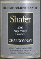 2009 Shafer - Chardonnay Red Shoulder Ranch