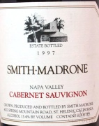 1996 Smith-Madrone - Cabernet Sauvignon