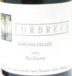 2003 Torbreck - The Factor