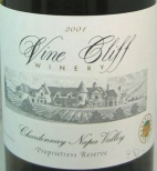 2009 Vine Cliff - Chardonnay Napa Valley Proprietress Reserve