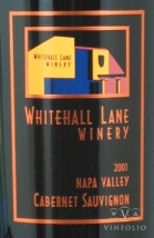 2001 Whitehall Lane - Cabernet Sauvignon Napa Valley