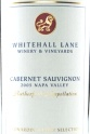 2006 Whitehall Lane - Cabernet Sauvignon Leonardini Family Selection Rutherford Appellation