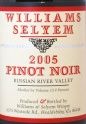 2005 Williams Selyem - Pinot Noir Russian River Valley