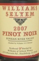 2007 Williams Selyem - Pinot Noir Russian River Valley