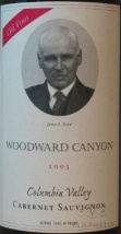 2003 Woodward Canyon - Cabernet Sauvignon Old Vines
