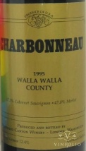 1995 Woodward Canyon - Charbonneau