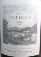2006 DR Stephens - Cabernet Sauvignon Moose Valley Vineyard