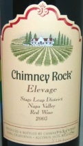 2003 Chimney Rock - Elevage