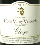 2007 Conn Valley - Eloge