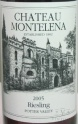 2011 Chateau Montelena - Riesling Potter Valley