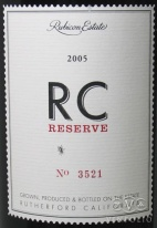 2003 Rubicon Estate - Syrah RC Reserve