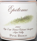 2005 Pine Ridge - Epitome Red