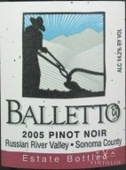 2007 Balletto - Pinot Noir Estate