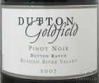 2009 Dutton-Goldfield - Pinot Noir Dutton Ranch