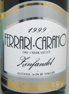 2009 Ferrari-Carano - Zinfandel Dry Creek Valley