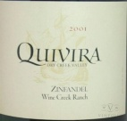 2006 Quivira - Zinfandel Wine Creek Ranch