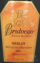 2002 Brutocao - Merlot Estate