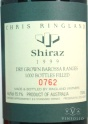 1999 Chris Ringland - Shiraz (Dry Grown)