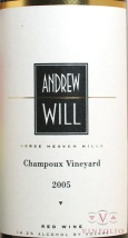 2008 Andrew Will - Red Champoux Vineyard