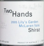 2005 Two Hands - Shiraz Lily's Garden
