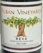 2004 Alban - Syrah Reva Estate