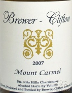 2009 Brewer-Clifton - Chardonnay Mount Carmel Vineyard
