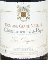 2009 Grand Veneur - Chateauneuf du Pape Les Origines