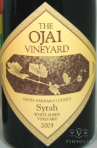 2003 Ojai - Syrah White Hawk Vineyard