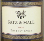 2007 Patz & Hall - Chardonnay Zio Tony Ranch