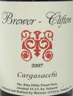 2008 Brewer-Clifton - Pinot Noir Cargasacchi Vineyard
