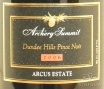 2006 Archery Summit - Pinot Noir Arcus Estate