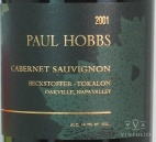 2001 Paul Hobbs - Cabernet Sauvignon Beckstoffer (To-Kalon) Vineyard